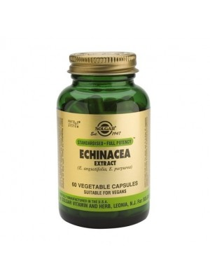 SOLGAR SFP ECHINACEA ROOT+LEAF EXTRACT 60VC