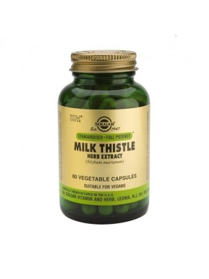 SOLGAR MILK THISTLE HERB & SEED EXTRACT 60VCAP