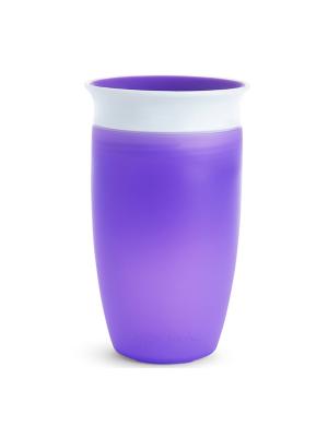 Munchkin Miracle 360° Cup Βρεφικό Ποτήρι Μωβ 12m+  296ml