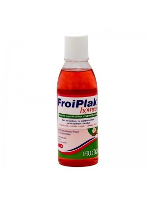 FROIKA FROIPLAK HOMEO MOUTHWASH ΜΕ ΓΕΥΣΗ ΜΗΛΟ- ΚΑΝΕΛΑ 250ML