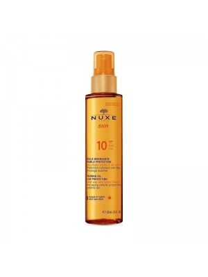 NUXE - SUN TANNING OIL FOR FACE / BODY LOW PROTECTION SPF30 150ML