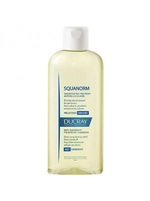 DUCRAY SHAMPOOING SQUANORM ΛΙΠΑΡΗ ΠΙΤΥΡΙΔΑ 200ML