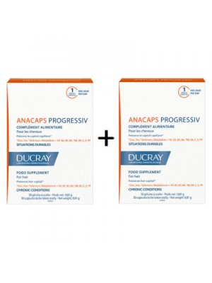 DUCRAY ANACAPS PROGRESSIV 2X30CAPS
