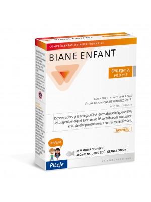PILEJE BIANE ENFANT OMEGA 3 VITAMINS D & E 27 SOFT JELLIES