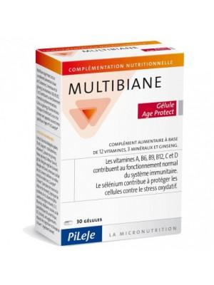 PILEJE MULTIBIANE AGE PROTECT 30 CAPS