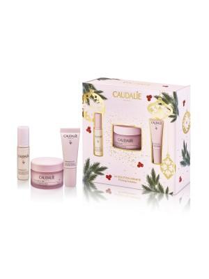 Caudalie Promo Resveratrol Lift Night Cream 50ml, Instant Firming Serum 10ml & Eye Cream 5ml