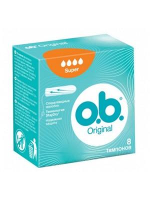 O.B. ORIGINAL SUPER ΤΑΜΠΟΝ 8 ΤΕΜΑΧΙΑ