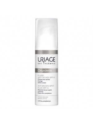 URIAGE DEPIDERM ANTI-BROWN SPOT FLUID SPF15 30ML