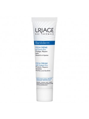 URIAGE BARIÉDERM REPAIRING CICA CREAM WITH COPPER-ZINC TUBE 40ML