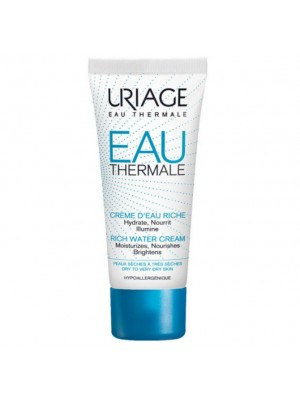 URIAGE EAU THERMAL CREME D'EAU RICHE 40ML