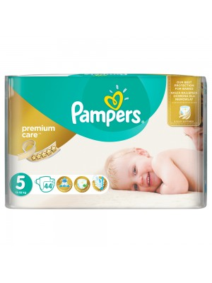 PAMPERS PREMIUM CARE ΠΑΝΕΣ No5 11-16KG JUMBO PACK 44ΤΕΜΑΧΙΑ