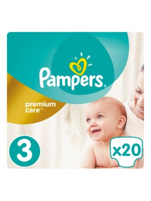 PAMPERS PREMIUM CARE ΠΑΝΕΣ No2 5-9KG 20ΤΕΜΑΧΙΑ