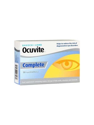 BAUSCH & LOMB OCUVITE COMPLETE 60TABS