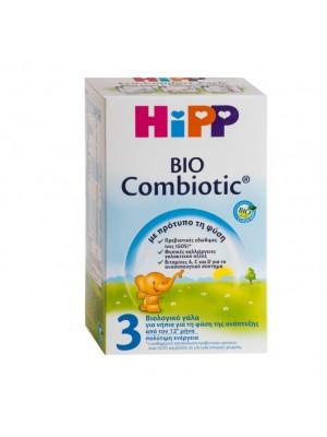HIPP BIO COMBIOTIC 3 ΒΙΟΛΟΓΙΚΟ ΒΡΕΦΙΚΟ ΓΑΛΑ ΑΠΟ 12 ΜΗΝΩΝ 600GR