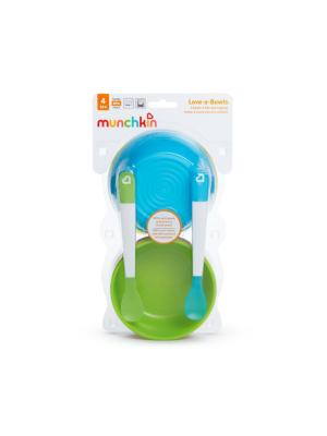 Munchkin Love A Bowls Σετ Παιδικά Πιάτα-Κουτάλια 6τμχ