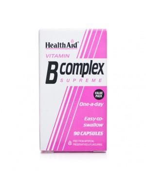 HEALTH AID B-COMPLEX SUPREME 90CAPS