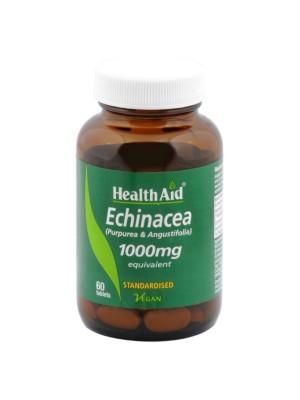 HEALTH AID ECHINACEA 1000MG 60TABS