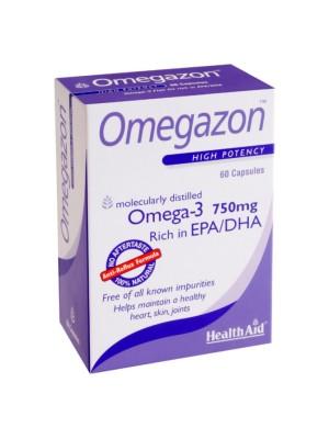 HEALTH AID OMEGAZON 750MG 60CAPS -BLISTER