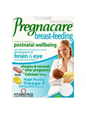 VITABIOTICS PREGNACARE BREAST-FEEDING 84TABS/CAPS