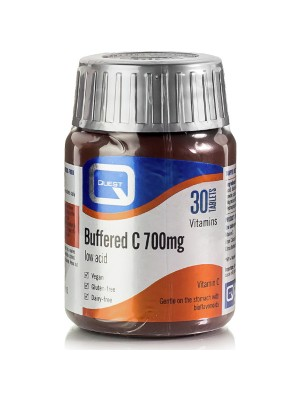 QUEST BUFFERED C 700MG 30TABS