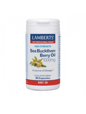 LAMBERTS SEA BUCKTHORN BERRY OIL 1000MG 30CAPS