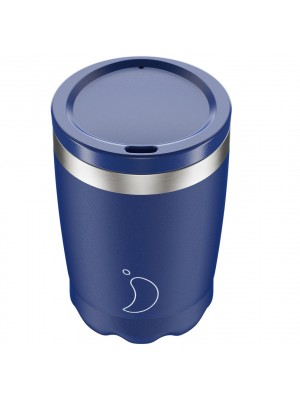 Chilly's Coffee Cup Matte Blue Κούπα Καφέ Μπλε 340ml