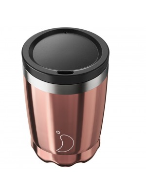 Chilly's Coffee Cup Rose Gold Κούπα Καφέ 340ml