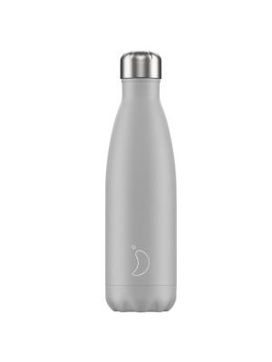 Chilly's Monochrome Light Grey Μπουκάλι Θερμός 500ml