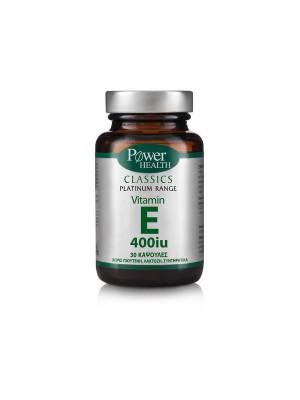 POWER HEALTH PLATINUM VITAMIN E 400UI 30 CAPS