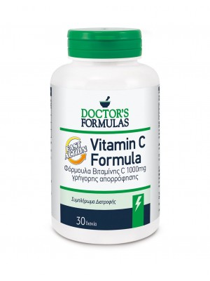 DOCTOR'S FORMULAS VITAMIN C FAST ACTION 1000MG 30CAPS