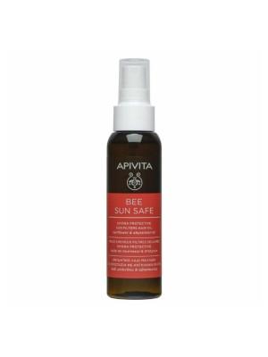 APIVITA BEE SUN SAFE HYDRA PROTECTION HAIR OIL 100ML