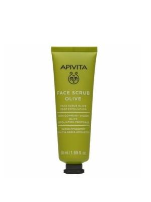 Apivita Olive Scrub Βαθιάς Απολέπισης 50ml