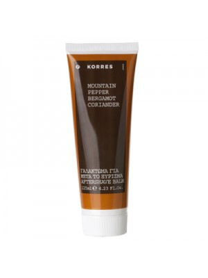 KORRES AFTER SHAVE MOUNTAIN PEPPER 125ML