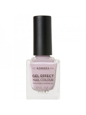 KORRES GEL EFFECT NAIL COLOUR No06 COTTON CANDY 11ML