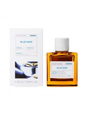 KORRES BLUE SAGE EAU DE TOILETTE 50ML