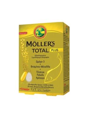 MOLLER'S TOTAL PLUS ΣΥΜΠΛΗΡΩΜΑ ΔΙΑΤΡΟΦΗΣ 28CAPS & 28TABS