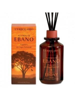 L' Erbolario Accordo Di Ebano Αρωματικό Χώρου Με Ξύλινα Sticks 200ml