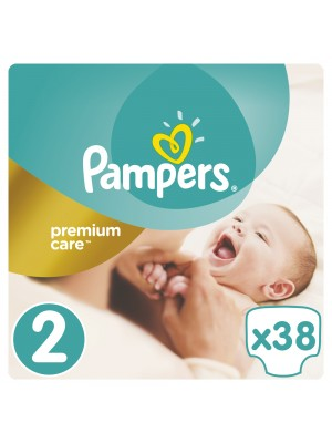 PAMPERS PREMIUM CARE ΠΑΝΕΣ No2 3-6KG 38ΤΕΜΑΧΙΑ