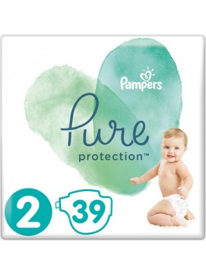 PAMPERS PURE PROTECTION ΠΑΝΕΣ No2 4-8KG 39ΤΕΜΑΧΙΑ