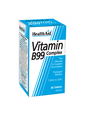 HEALTH AID B99 COMPLEX PROLONGED RELEASE TABLETS 60'S