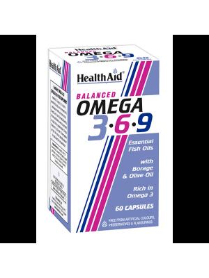 HEALTH AID OMEGA 3-6-9 60CAPS