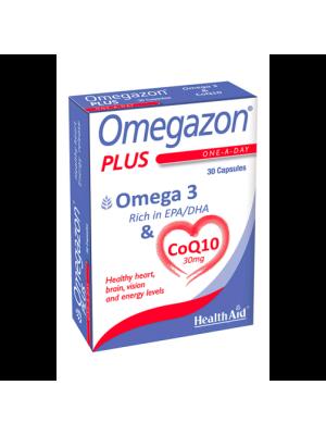 HEALTH AID OMEGAZON PLUS (Ω3 + COQ10) 30CAPS
