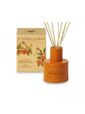 L' Erbolario Accordo Arancio Αρωματικό Χώρου Με Ξύλινα Sticks 125ml