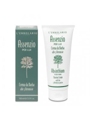 L' Erbolario Assenzio Shaving Cream Κρέμα Ξυρίσματος 100ml