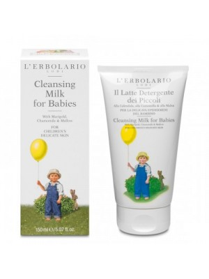 L' Erbolario Cleansing Milk For Babies Γαλάκτωμα Καθαρισμού Για Παιδιά 150ml