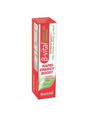 HEALTH AID B-VITAL EF 20TABS