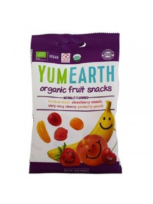 YUMEARTH ORGANIC FRUIT SNACKS 50GR BIO