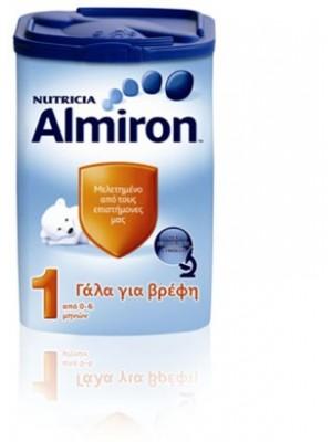 ALMIRON 1 NUTRICIA ΒΡΕΦΙΚΟ ΓΑΛΑ 0-6ΜΗΝΩΝ 800GR