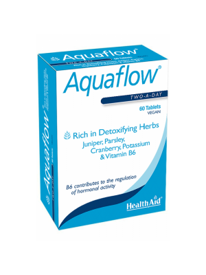 HEALTH AID AQUAFLOW VEGETARIAN TABLETS 60'S-BLISTER