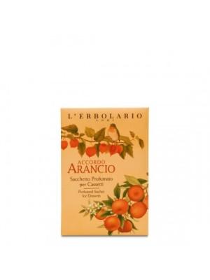L' Erbolario Accordo Arancio Αρωματικό Σακουλάκι Για Συρτάρια 1 Τεμάχιο